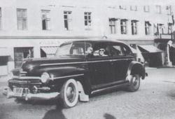 gammel drosje