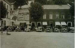 den gamle drosjeplassen