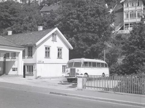 gammel essostasjon